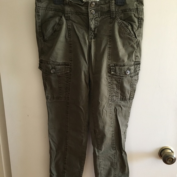 1b2f1d34ad87d Old Navy Pants | Olive Green Skinny Cargo Size 4 | Poshmark